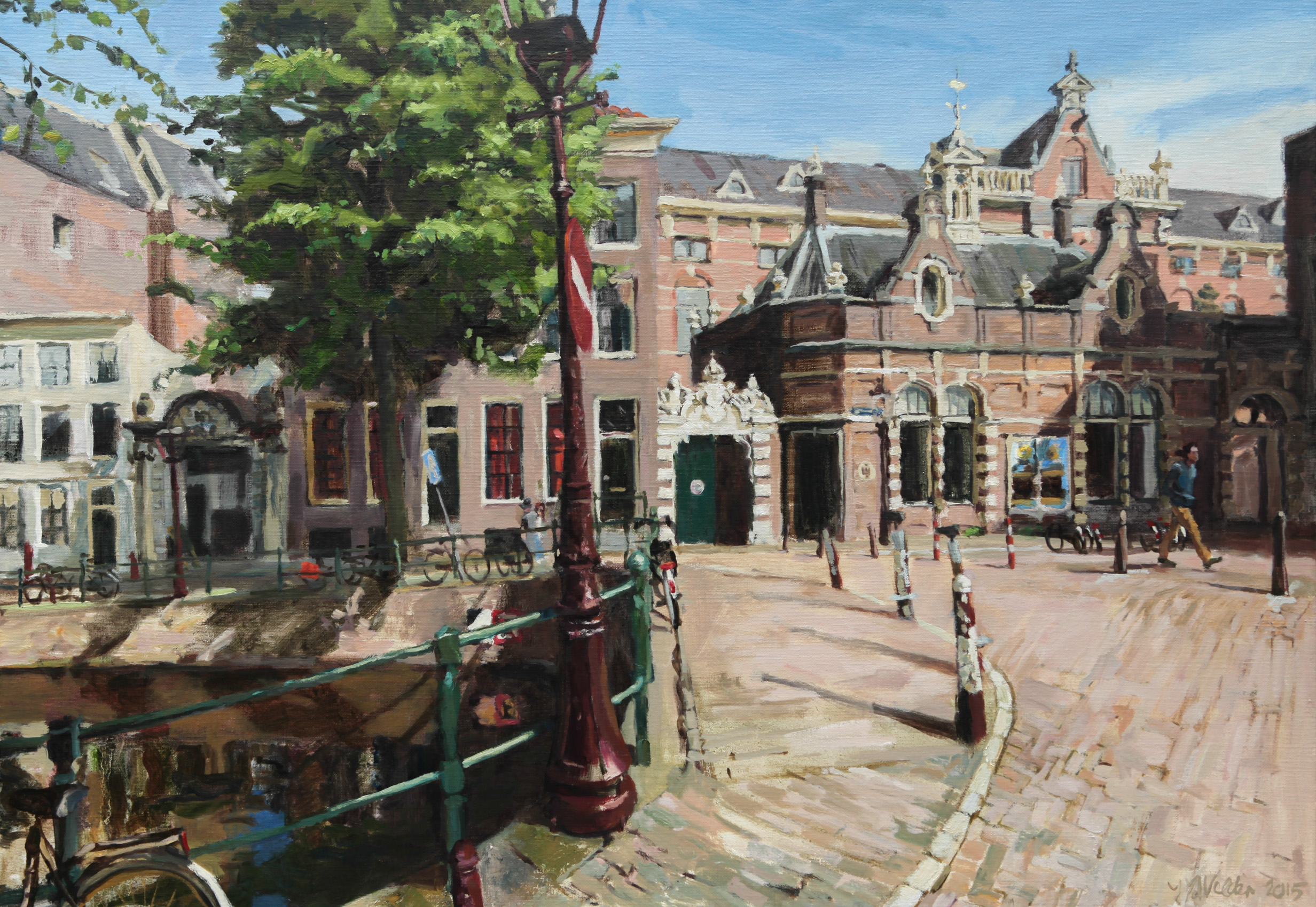 schilderijen stadsgezichten